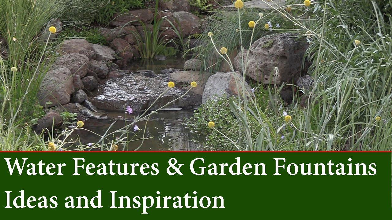 Garden Fountains And Water Feature Ideas For Small And Large Gardens