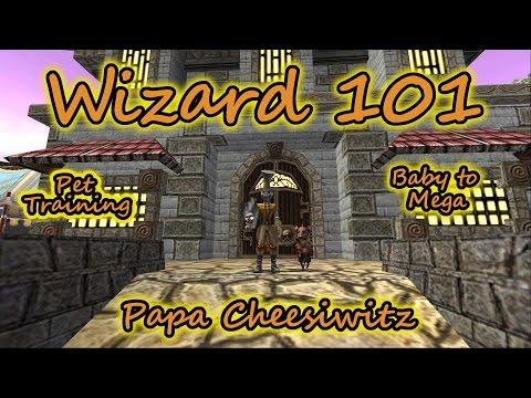 Wizard101: Pet Training Baby to Mega - Papa Cheesiwitz