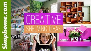 28 Creative shelving ideas