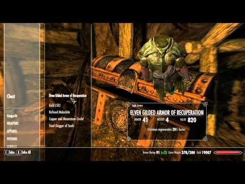Skyrim How To Get Ebony Mail (Rare Armor)