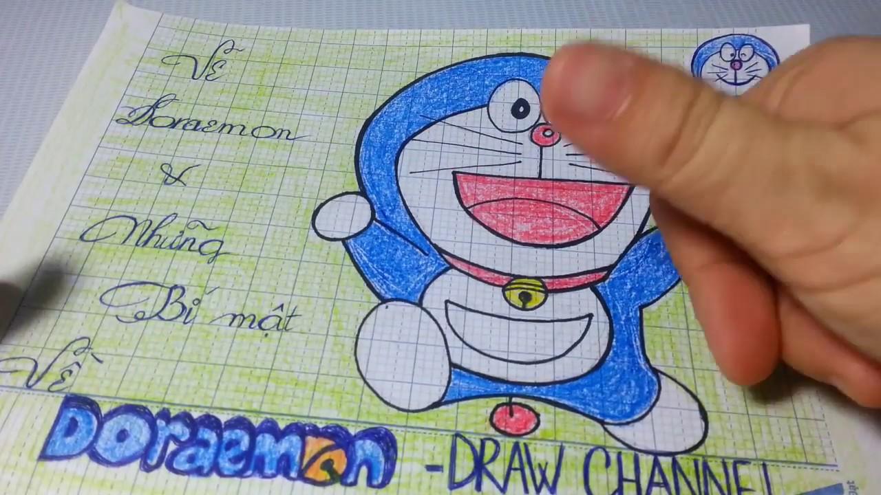 Cách vẽ từng bước Doraemon và TIẾT LỘ NHỮNG BÍ MẬT VỀ DORAEMON/Draw channel