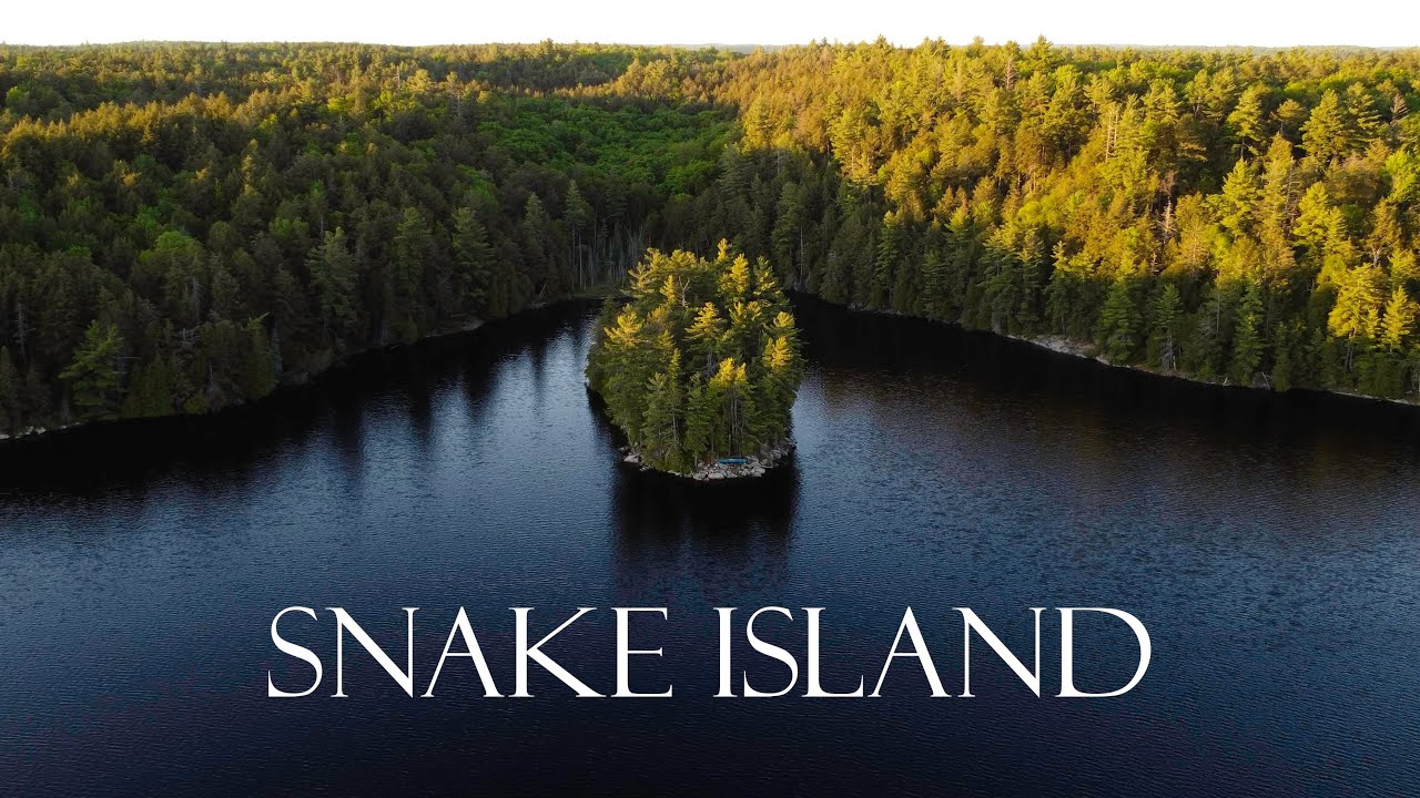 Solo Camping Overnight on Snake Island