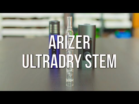 Arizer UltraDry Stem – Product Demo | GWNVC's Vaporizer Reviews
