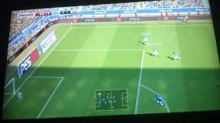 FIRST GAMEPLAY PES 2014 AKISGT VS CRAZYBILL92