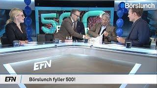 Avsnitt 500! |Börslunch