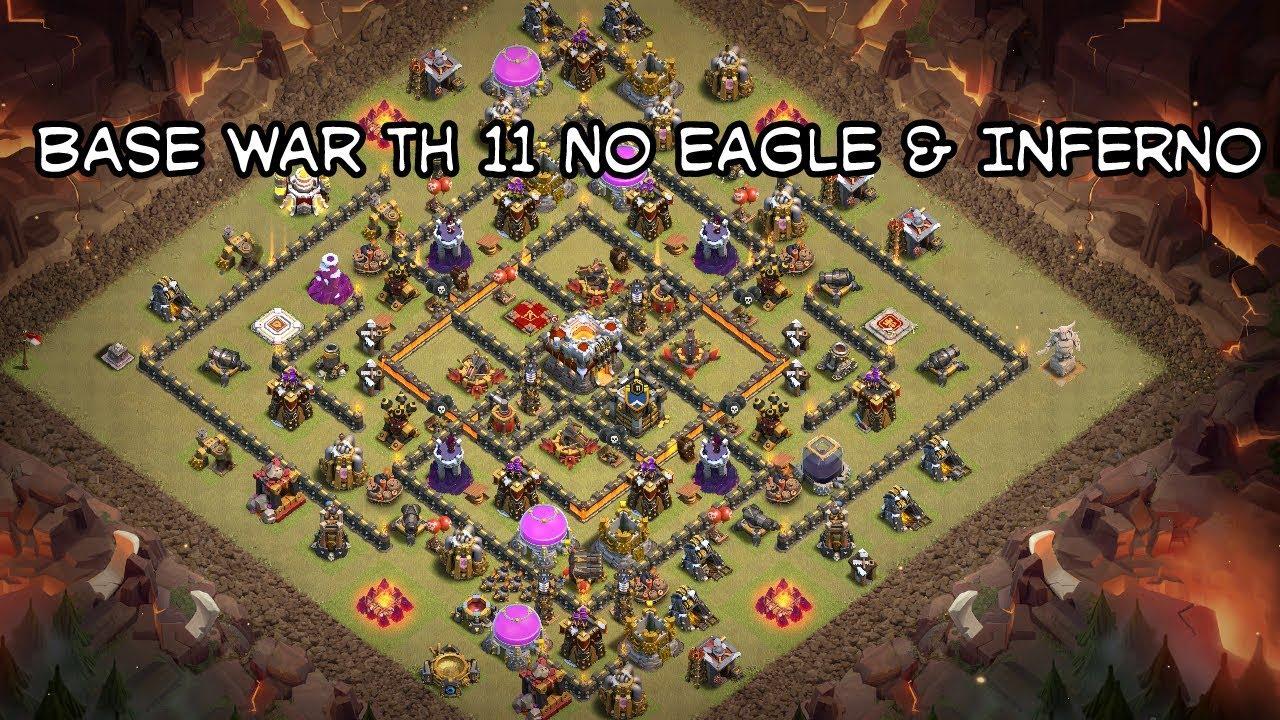 Base War Th 11 Tanpa Eagle Dan Inferno 7