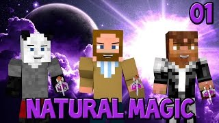 Minecraft - Modded SMP - Natural Magic - Episode 1 - Behold the Magic! w/ Mevoda