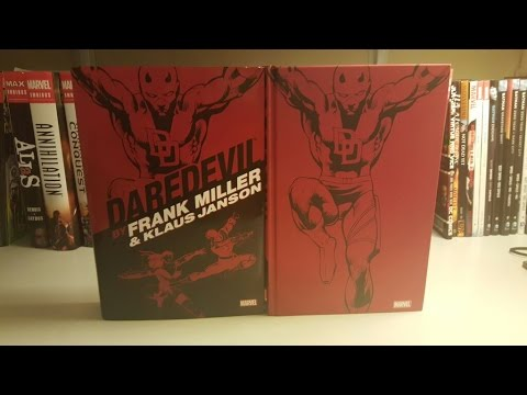 Daredevil Omnibus By Frank Miller and Klaus Janson Overview