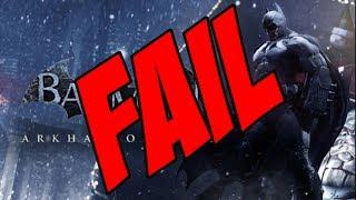 Warner e Batman Arkham Origins FAIL, DESRESPEITO ABSURDO AO CONSUMIDOR