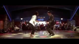 Джон Траволта и Ума Турман Танец Криминальное чтиво