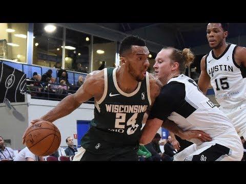 Joel Bolomboy- Best of 2018 NBA G League Showcase