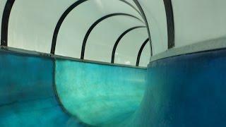 WellenBerg Oberammergau - blaue Wasserrutsche    Blue Slide