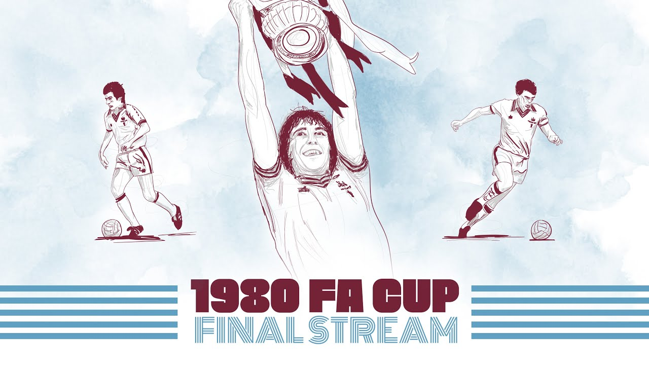 WATCH LIVE: 1980 FA CUP FINAL | WEST HAM UNITED VS ARSENAL