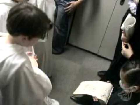 Libera - Dressing room