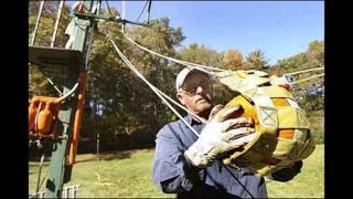 Punkin Chunkin Pumpkin Cannons, Catapults, Trebuchets, Gourd Destruction Halloween