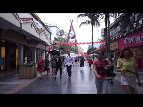 [Walking tour 漫步遊] Zhengyang Street Guilin China 廣西 桂林 正陽步行街