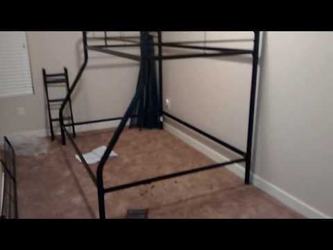 dorel twin over full bunk bed review 3
