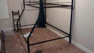 DOREL twin over full size bunk bed REVIEW