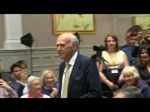Pro-EU economist named new leader of UK Lib Dems