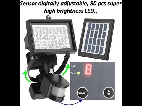 Guardian 240x Part 2 Pir Motion Sensor Flood Light Doovi