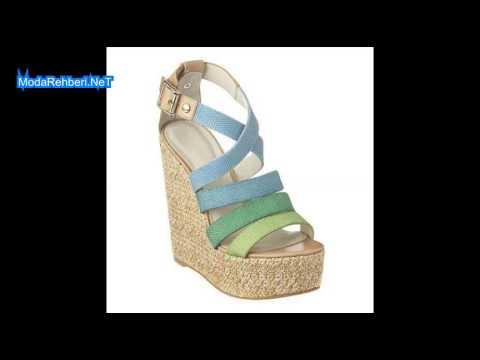 Topuklu Sandalet Modelleri 2014 2015