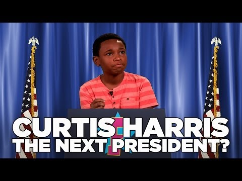 Is Haunted Hathaways star Curtis Harris the next Kid President?