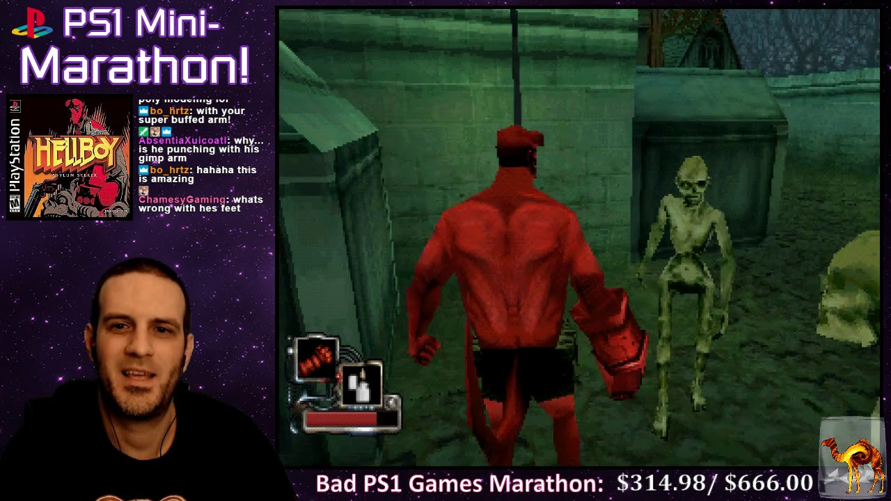 PS1 Mini-Marathon #5 20: Hellboy: Asylum Seeker