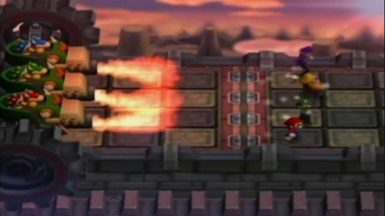Gcn Nostalgia Mario Party 7 All Dk Bowser Mini Games Youtube