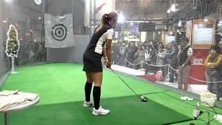 2015年2月14日のジャパンゴルフフェア2015 ユピテルブース(...