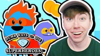 DUMB WAYS TO DIE: SUPERHEROES (iPhone Gameplay Video)