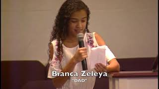 "Poem - ""Dad"" read by Blanca Zeleya"