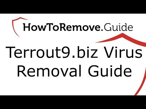 Terrout9.biz Virus Removal