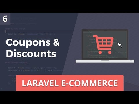 Laravel E-Commerce - Coupons & Discounts - Part 6