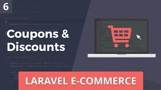 Laravel E-Commerce - Coupons & Discounts - Part 6