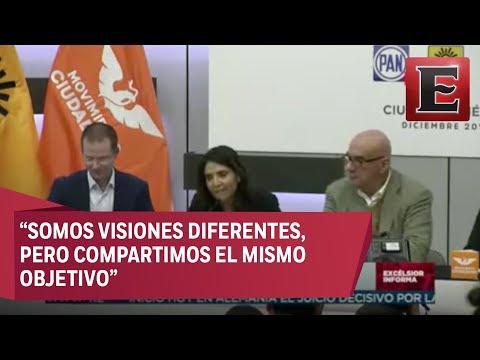 Registro de la coalición Por Mexico Al Frente