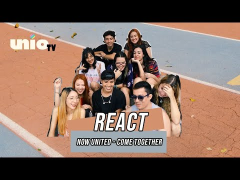 UNIO TV - Reagindo A Now United - Come Together (Official Music Video)