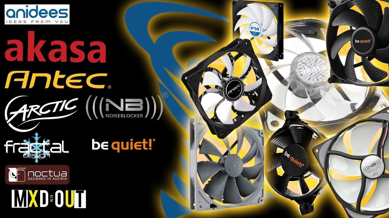 Be Quiet VS Noctua Redux & NoiseBlocker Who Will Win?