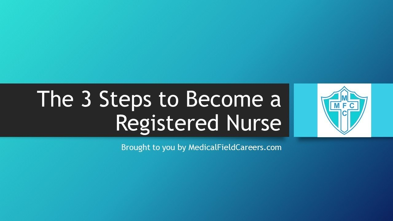 How to Become a Registered Nurse in 2020 - Pay, Training and ...