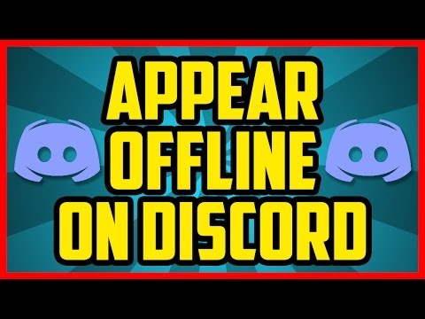 How To Appear Offline On Discord 2017 (QUICK & EASY) - How to Enable  Offline Mode On Discord