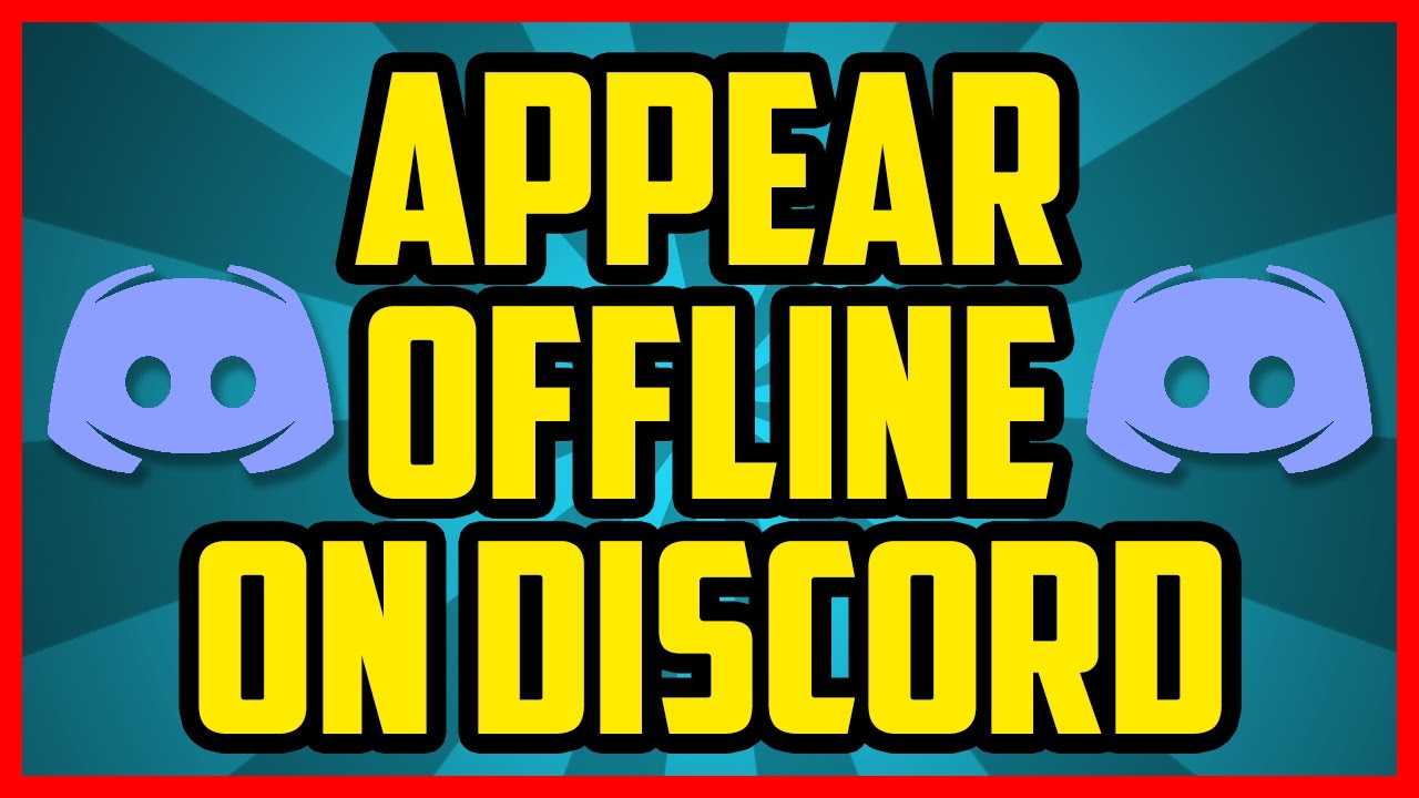 How To Appear Offline On Discord 2017 Quick Easy How