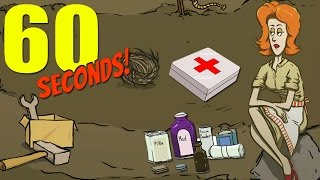 NO HEALTH, NO PROBLEM CHALLENGE! | 60 Seconds Game
