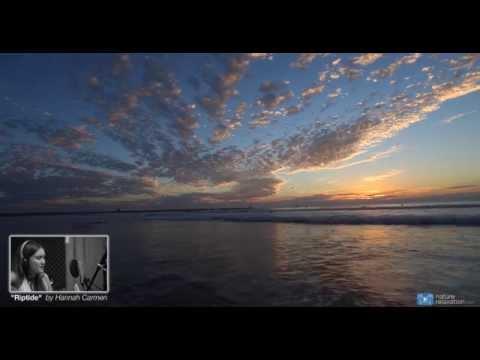 """""""Riptide"""" Vance Joy Cover 4K Nature Relaxation Music Video ft. Hannah Carmen"""