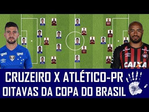 PRÉ-JOGO: CRUZEIRO X ATLÉTICO-PR - OITAVAS DE FINAL DA COPA DO BRASIL