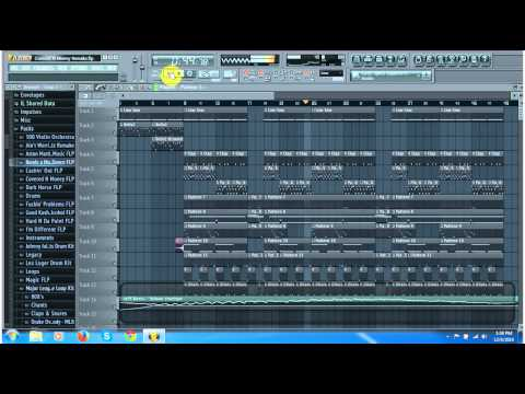 Future Covered N Money Instrument Remake On FL Studio 11