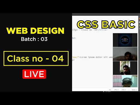 Advance Responsive Web Design & Freelancing || Batch No - 03 || Class No - 04 || Programming Point
