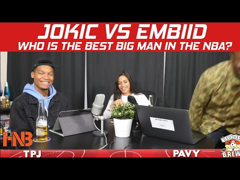 whos-better-nikola-jokic-vs-joel-embiid?-|-who's-the-best-nba-center?-|-hoops-&-brews
