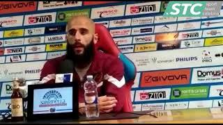 Diego Conson dopo Catania-Reggina 4-1 [15/05/2019]