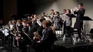 """Channel One Suite"" - UNI Jazz Band One, 8-Nov-2013"