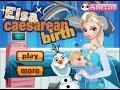Elsa Caesarean Birth Game - Frozen doctor games - Baby Frozen Games