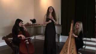 ANGELS OF VENICE, Madre de Deus, Carol Tatum Harp, Christina Linhardt Vocals, Irina Chirkova Cello